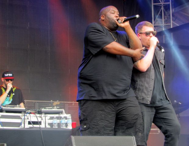 Run the Jewels (Killer Mike and EL-P,  Blu Freedom Stage, April 27.)